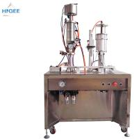 35 - 65 Mm Bottle Height Bottled Water Filling And Capping Machine Inhaler Aerosol Filling Machine Manufactures