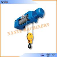 50HZ 20Ton Electric Wire Rope Hoist Lifting Equipment Remote Control Manufactures