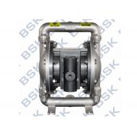 Pharmacy Chemicals Air Driven Diaphragm Pump Stainless Steel Manufactures