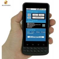 IP65 Portable Digital Assistant Barcode Scanner Devices Raypodo Android 4.1 With NFC Function