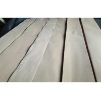 Quality 0.45 mm Yellow Beech Quarter Cut Veneer , Natural Wood Veneer for sale