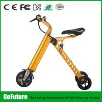 Street Legal Three Wheel Electric Scooter Stable Current Two Solid Tire Manufactures