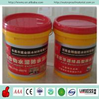 China Concrete roof elastomeric polymer cement waterproof coating on sale