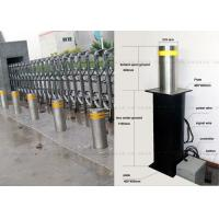 Full Automatic Hydraulic Bollards For Security , Hydraulic Rising Bollards Manufactures