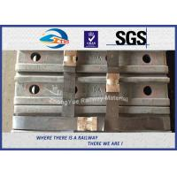 Quality High Quality Railway Fish Plate For BS100A Rail British Standard BS47-1 Joint Bar 50# 4 Holes for sale
