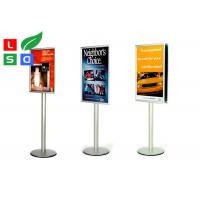 Quality Freestanding Pole Trade Show Displays Snap Frame Durable Portable Sign Stands for sale