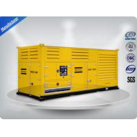 1000 Kw Container diesel generator set powered by Cummins diesel engine 16 cylinder Manufactures
