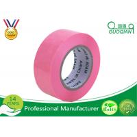 Self Adhesive Colored Carton Sealing Tape 2 Inch Width For Food / Beverage Manufactures