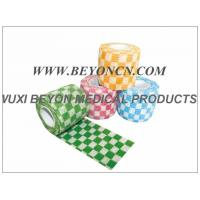 Custom Printed Colored Non Woven Bandage Cohesive Vet Animal Wraps Manufactures