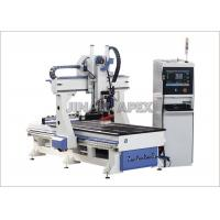 Auto Tool Changer ATC CNC Router Machines Excellent Milling Performance For Kitchen Furniture Manufactures