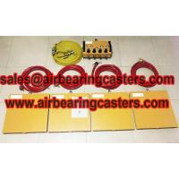 air pads for moving equipment also named air bearing casters Manufactures