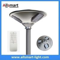 Quality New 15W 1500lm UFO Solar Garden Lights All In One Parking Lot Lamp Solar Energy for sale