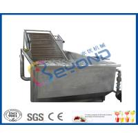 Air Bubble Industrial Fruit Washer Vegetable Washing Machine Low Energy Consumption Manufactures