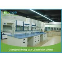 Corrosion Resistance Modern Laboratory Furniture Ceramic Worktop For Pharmacy Manufactures