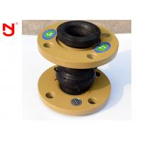 NBR Rubber Bellows Expansion Joints , Plumbing Expansion Joint Easy Maintainence