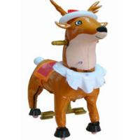 Large Christmas Plush Stuffed Toys Animals Deer with Clothes Manufactures