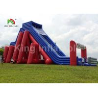 China Colorful 25*10m Giant 5K Inflatable Sports Games / Commercial Inflatable Slide on sale