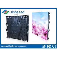 Advertisement P5 led sign cabinet Big Wall High Resolution , Energy saving Manufactures