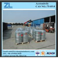 Acetonitrile used as solvent,CAS NO.:75-05-8 Manufactures