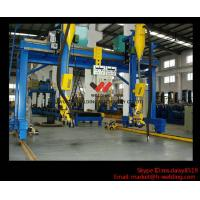 Automatic Movable Gantry Welding Machine 18m Rail For H Beam Production Line Manufactures