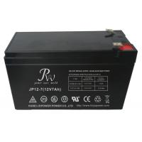 Rechargeable Sealed AGM Battery 12V 7Ah For Uninterruptible Power Supplies Manufactures