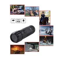 Sports Action Camera waterproof HD 720P 30FPS 8MP 120A+ HD Wide-angle Lens DVR Helmet Action Camera Camcorder Car DVR Manufactures