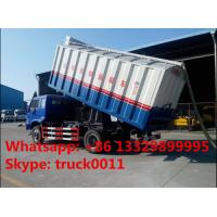 bulk grains suction and delivery truck with factory price, forland self-sucking grains transported van truck for sale Manufactures