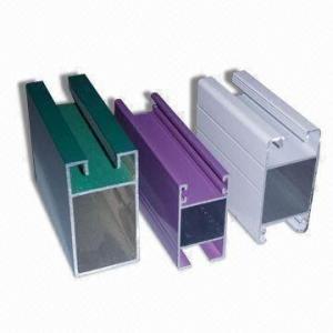 Electrophoretic Coated 6061 Aluminum Profile , Q/320281/PDWD-2008 Structural Aluminium Profiles Manufactures