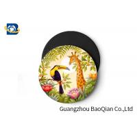 Wild Animal Art Image Lenticular Coasters 3D Decoative Cup Placemat 0.6MM PET Manufactures