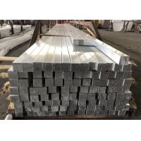 China Solid Aluminium Flat Bar Extrusions Rustproof 40 x 40mm 6.0 Meter Length on sale
