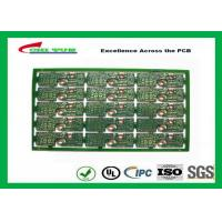 2 Layer PCB Board FR4 2.0MM Gold Surface Finish General Purpose PWB  Board Manufactures