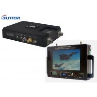 Buy cheap 300-860MHz Professional Wireless Video Transmitter And Receiver For Military / Industrial from wholesalers