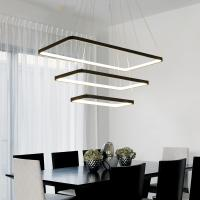 Quality Adjustable Acrylic pendant lights Decorative Room Modern LED Chandelier (WH-AP for sale