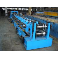 C Purlin Roll Forming Equipment  / Cold Roll Forming Machine with Gearbox Drive for Steel C Purlin Manufactures