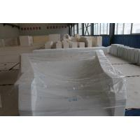 White Color Fire Retardant Bricks For Glass Smelting Furnace / EAF Manufactures