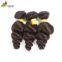 Buy cheap 8A Hair Bundles And 4*4 Lace Closure Loose Wave Virgin Human Hair Extensions from wholesalers