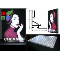 Quality 45mm Thickness LED Frameless Fabric Light Box Single Side For Clothes Retail for sale