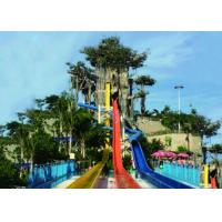 Adult High Speed Tall Water Slides Manufactures