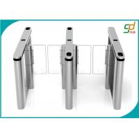 Safety High Speed Barrier Turnstile Security Systems / Stainless Steel Turnstile Door AC220V Manufactures