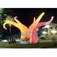 Durable Led Inflatable Stage Decoration , 210D Ripstop Fabric Standing Inflatable Manufactures