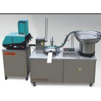 China Full automatic stainless steel cover cap lining machine with gluing function on sale