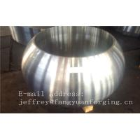 Spherical Size Rough Turned Valve Forging ASTM A105 F304 F316 F51 F53 F60 Manufactures