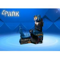 32 Inch h2 Overdrive Submarine Arcade Racing Machine / Car Driving Simulator Manufactures