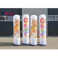 Outdoor Inflatable Advertising Blow Up Man Post Lamp Inflatable Pillar Shape Manufactures