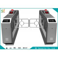 Stainless Steel Swing Barrier Gate With RFID Reader , Double Swing Gate Manufactures