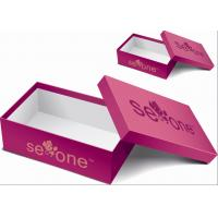 12 * 7 * 6 Inch Paper Shoes Packaging Box, Cardboard Shoe Boxes Hot Stamping Logo Manufactures
