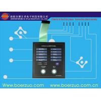Quality PET Light Weight Tactile Backlit Membrane Switch for Screen Printing Machine for sale