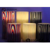 Multi Color Real Wax Flameless Candles Set Of 2 For Home Decoration Manufactures
