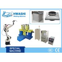 Metal Plate Robot Arm 6 Axis Robotic Spot Welding Machine With Servo Motor Manufactures