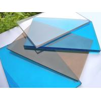 Quality 3mm Impact Resistant Polycarbonate Sheet , Blue Polycarbonate Sheet For Construction for sale